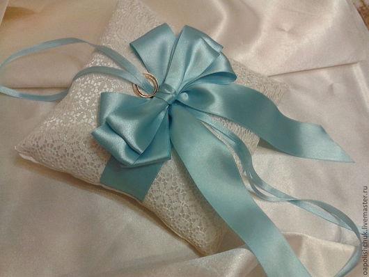 подушечка для колец свадебные аксессуары для невесты