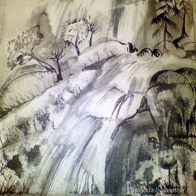 Cascade of waterfalls, Pictures, Gelendzhik,  Фото №1