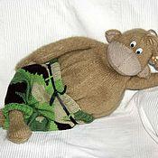 Куклы и игрушки ручной работы. Ярмарка Мастеров - ручная работа Игрушки ручной работы Мартын вязаный в камуфляже (60 см). Handmade.