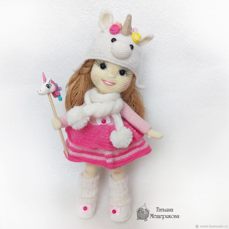 Мастер-класс. Вязаная кукла Дина, Мягкие игрушки, Урюпинск,  Фото №1