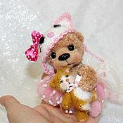 Куклы и игрушки ручной работы. Ярмарка Мастеров - ручная работа Мишка Катюшка. Handmade.