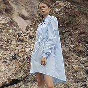 Одежда ручной работы. Ярмарка Мастеров - ручная работа Платье-рубашка. Handmade.