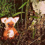 """Тедди Зверята ручной работы. Ярмарка Мастеров - ручная работа """"Голубоглазый Малыш Персик"""" Котенок Тедди. Handmade."""