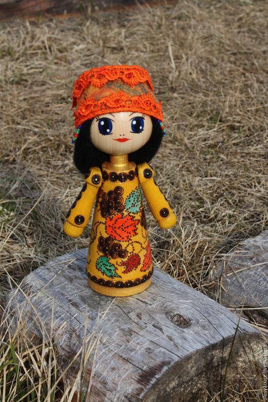 """Статуэтки ручной работы. Ярмарка Мастеров - ручная работа. Купить Кукла-оберег """"Ладодея"""".. Handmade. Черный, кукла в подарок"""