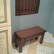 Для дома и интерьера ручной работы. Ярмарка Мастеров - ручная работа Мебель для прихожей Скамейка в прихожую. Handmade.