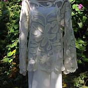 Одежда ручной работы. Ярмарка Мастеров - ручная работа Блуза Сударыня. Handmade.