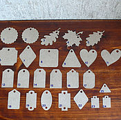 Материалы для творчества handmade. Livemaster - original item Tag cardboard. Handmade.
