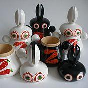 Куклы и игрушки ручной работы. Ярмарка Мастеров - ручная работа ZORRO заяц-шкатулка бонбоньерка. Handmade.