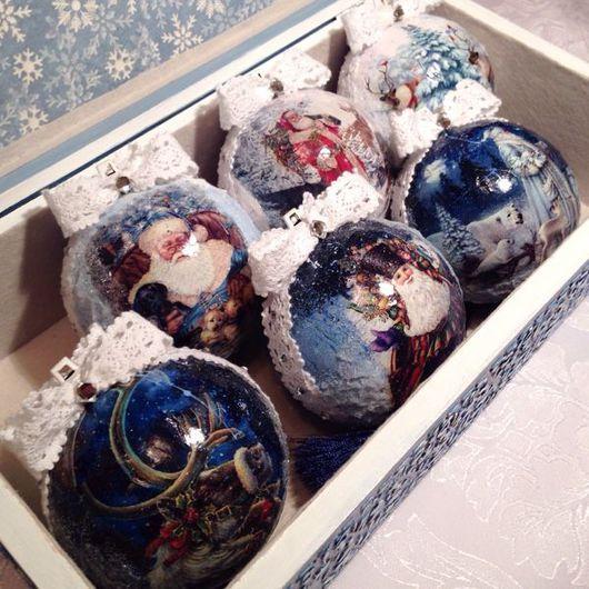 Шкатулки ручной работы. Ярмарка Мастеров - ручная работа. Купить Новогодние шары. Handmade. Новогодние шары, Новый Год, заготовка
