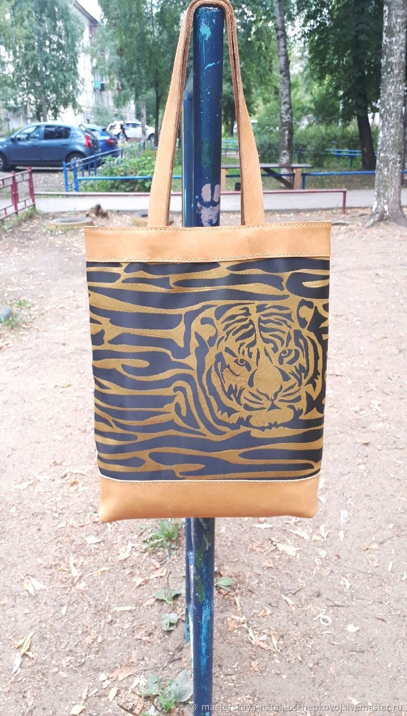 сумка из натуральной кожи, Сумка-шоппер, Пермь,  Фото №1