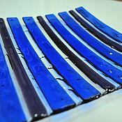 """Посуда ручной работы. Ярмарка Мастеров - ручная работа Набор """"Королевский синий"""". Handmade."""