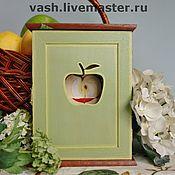 Для дома и интерьера ручной работы. Ярмарка Мастеров - ручная работа Ключница  Райские яблочки. Handmade.