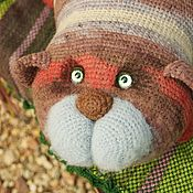 Куклы и игрушки handmade. Livemaster - original item Pillow toy Cat Obormot. Handmade.