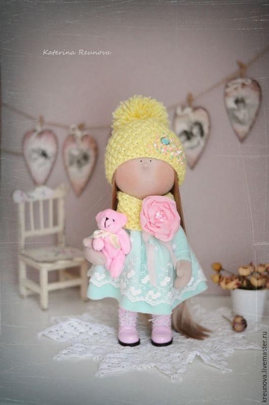 Коллекционные куклы ручной работы. Ярмарка Мастеров - ручная работа. Купить Дашуля. Handmade. Мятный, кукла, обувь для кукол, кукла