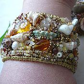 Украшения handmade. Livemaster - original item Bracelet brass
