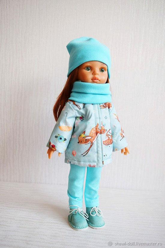 Куртка Одежда для кукол Паола Рейна. Олени, Одежда для кукол, Оренбург,  Фото №1