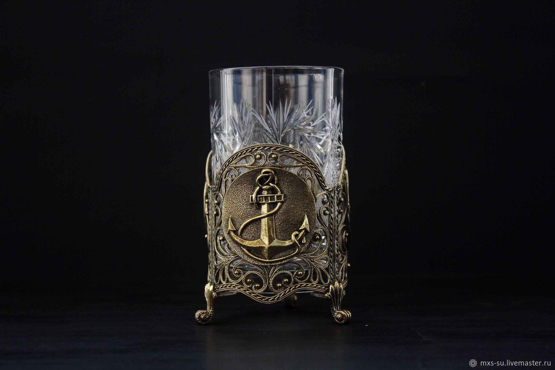 Cup Holder 'Marine', Souvenirs by profession, Tyumen,  Фото №1