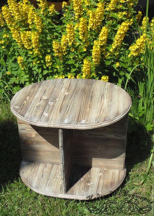 """Мебель ручной работы. Ярмарка Мастеров - ручная работа. Купить Журнальный столик """"Лайт"""". Handmade. Журнальный столик, столик из дерева"""