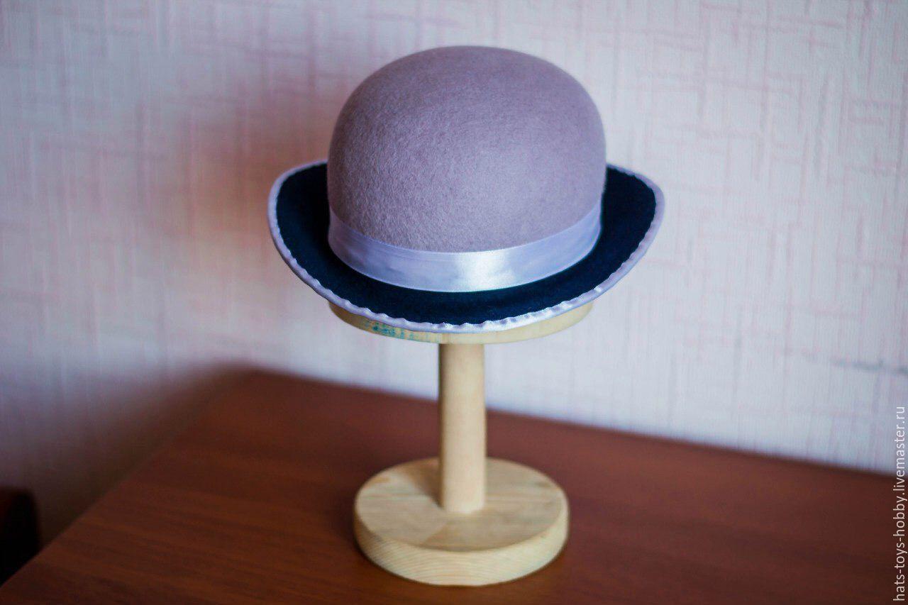 Как сделать шляпу котелок фото