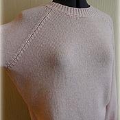 """Одежда ручной работы. Ярмарка Мастеров - ручная работа Свитер """"Розовый кварц"""" с кашемиром. Handmade."""