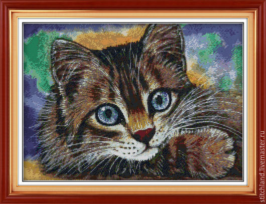 Набор для вышивания  `Котёнок`