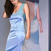 Одежда handmade. Livemaster - original item Silk dress for bridesmaids