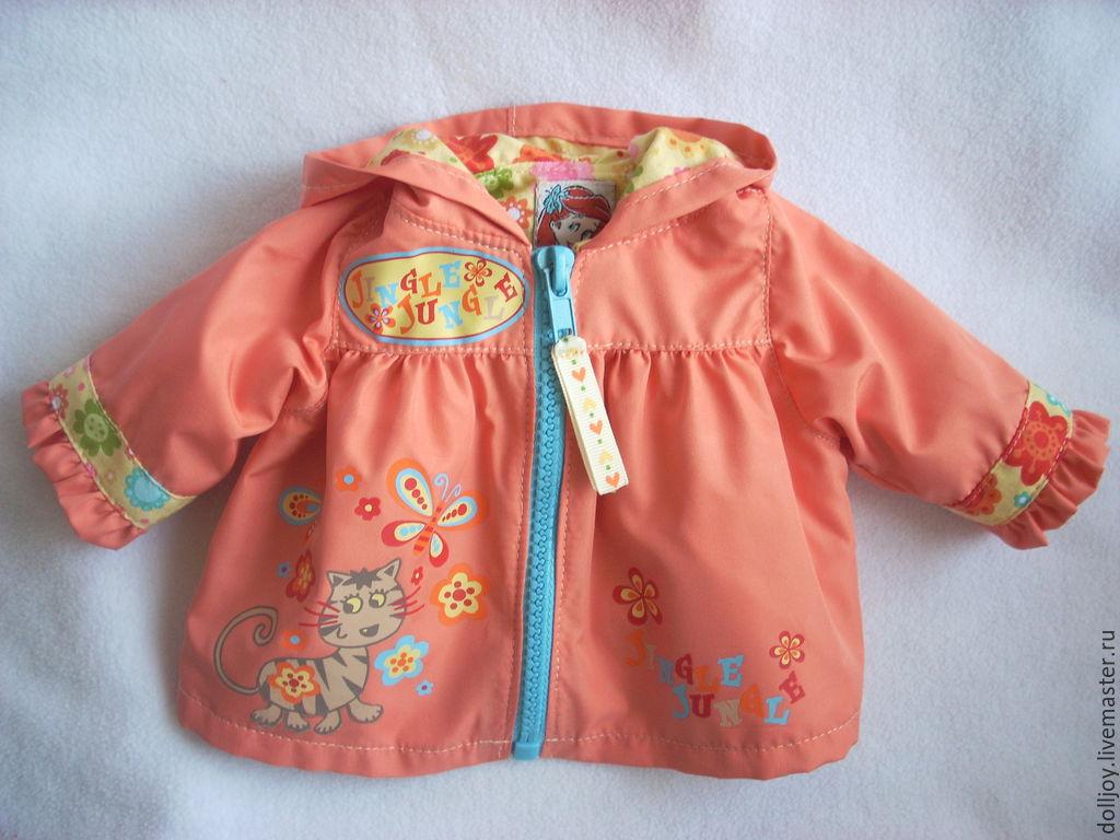 Куртка на куклу своими руками 41