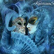 """Картины и панно ручной работы. Ярмарка Мастеров - ручная работа """"Венецианские маски"""". Handmade."""