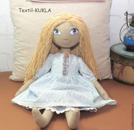 Куклы тыквоголовки ручной работы. Ярмарка Мастеров - ручная работа. Купить Игровая текстильная кукла. Handmade. Куклы и игрушки, тыквоголовки
