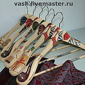 Для дома и интерьера ручной работы. Ярмарка Мастеров - ручная работа Вешалка-плечики для одежды  Мужская XL. Handmade.