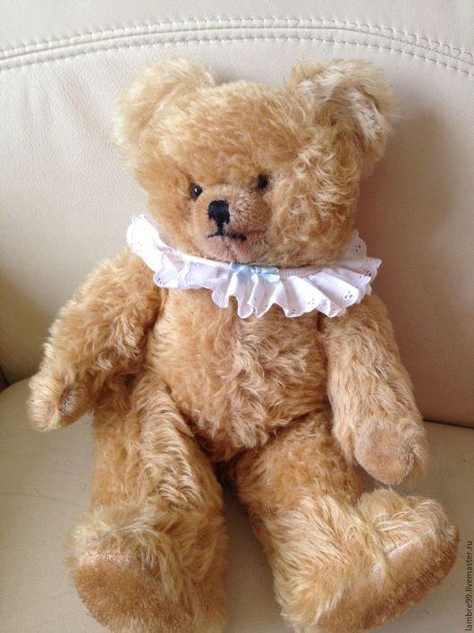 Винтажные куклы и игрушки. Ярмарка Мастеров - ручная работа. Купить Мишка Тедди старинный. Handmade. Бежевый, мишка антикварный
