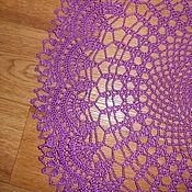 Для дома и интерьера ручной работы. Ярмарка Мастеров - ручная работа Ажурная салфетка. Handmade.