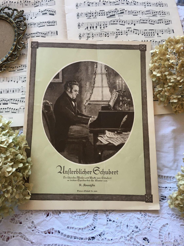 Винтаж: Старинные ноты. Германия, Журналы винтажные, Калининград,  Фото №1