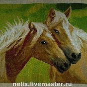 Картины и панно ручной работы. Ярмарка Мастеров - ручная работа Лошади. Handmade.