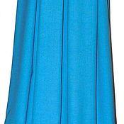 Одежда ручной работы. Ярмарка Мастеров - ручная работа Бирюза . юбка шерсть. Handmade.