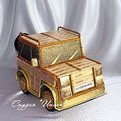 """Сувениры и подарки ручной работы. Ярмарка Мастеров - ручная работа Джип """"шоколадный"""". Handmade."""