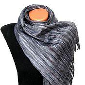 """Аксессуары ручной работы. Ярмарка Мастеров - ручная работа """"Ностальгия"""" шарф мужской валяный. Handmade."""