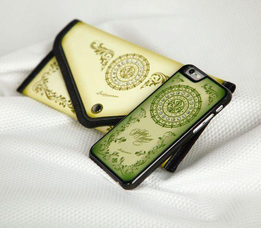 Для телефонов ручной работы. Ярмарка Мастеров - ручная работа. Купить Кейс для  iPhone  6/ 6s/ 6 plus Yellow Flower. Handmade.