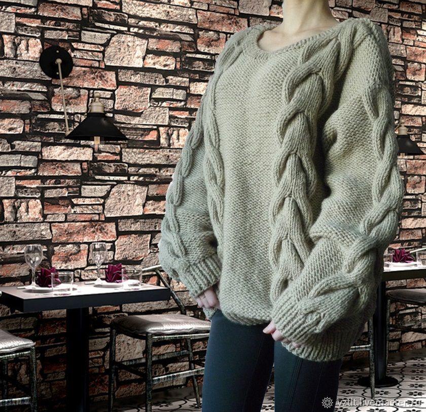 всё объемные свитера крупной вязки спицами схема фото цены турникеты трипод