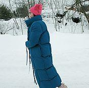 Одежда handmade. Livemaster - original item Jacket-blanket Warm & Sexy Classic. Handmade.
