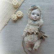 """Куклы и игрушки ручной работы. Ярмарка Мастеров - ручная работа Тедди-долл """"Порой мне хочется казаться медвежонком"""". Handmade."""