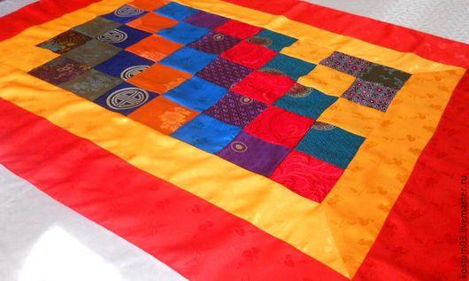 Текстиль, ковры ручной работы. Ярмарка Мастеров - ручная работа. Купить Скатерть для дацана. Handmade. Скатерть ручной работы