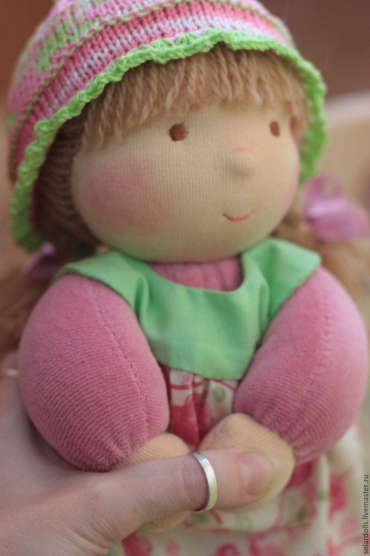 Вальдорфская кукла Машенька 30 см .Julia Solarrain (SolarDolls) Ярмарка Мастеров
