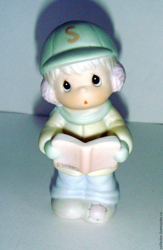 """Винтажные предметы интерьера. Ярмарка Мастеров - ручная работа. Купить Коллекционная статуэтка """"Philip"""". Handmade. Белый, драгоценные моменты, для коллекции"""