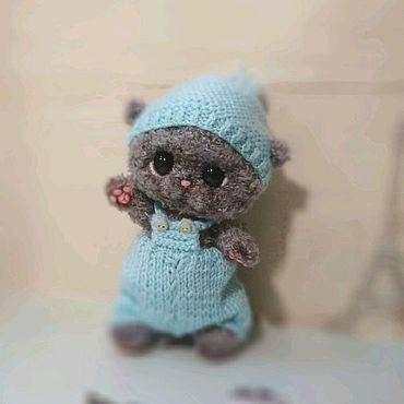 Куклы и игрушки ручной работы. Ярмарка Мастеров - ручная работа Котенок Гриз. Handmade.