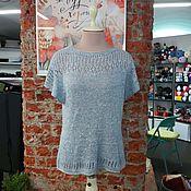 Одежда ручной работы. Ярмарка Мастеров - ручная работа Топ из шелка Тусса. Handmade.