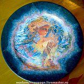 """Посуда ручной работы. Ярмарка Мастеров - ручная работа Блюдо декоративное """"Волшебные Сны """" ...по мотивам Жозефины У. Handmade."""