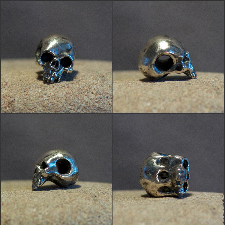 Skull charm, Beads1, Vladivostok,  Фото №1