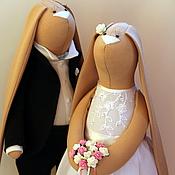 Свадебный салон ручной работы. Ярмарка Мастеров - ручная работа Молодожены 7. Handmade.