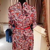 Одежда ручной работы. Ярмарка Мастеров - ручная работа платье рубашка в разных расцветках. Handmade.